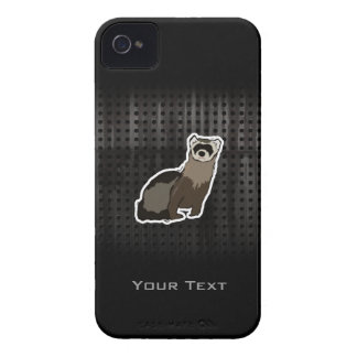 Grunge Ferret iPhone 4 Cover