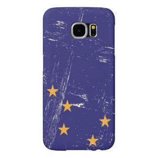 Grunge Flag of Alaska Samsung Galaxy S6 Cases