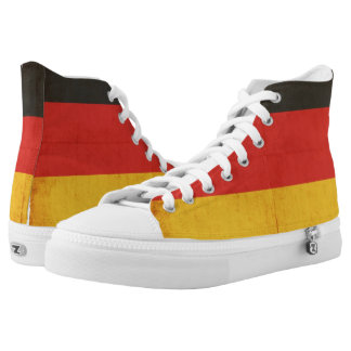 Grunge Flag Of Germany High Tops