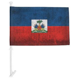 Grunge Flag Of Haiti Car Flag