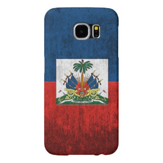 Grunge Flag Of Haiti Samsung Galaxy S6 Cases