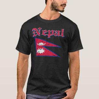 Grunge Flag of Nepal T-Shirt