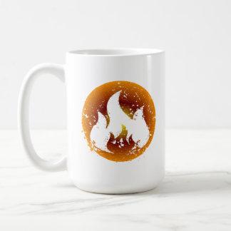 Grunge Flame Coffee Mug