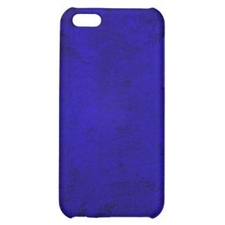 Grunge Floral Blue Illustration iPhone 5C Cases