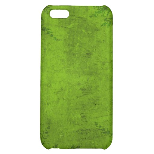 Grunge Floral Green Illustration Cover For iPhone 5C