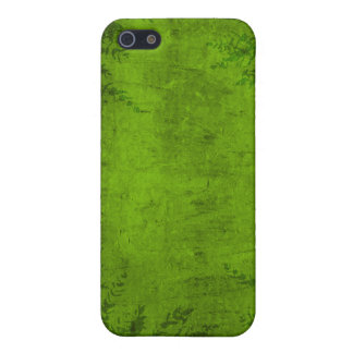 Grunge Floral Green Illustration Cases For iPhone 5