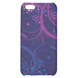 Grunge Floral Cover For iPhone 5C