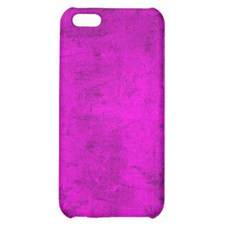 Grunge Floral Pink Illustration iPhone 5C Case