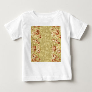 grunge,floral,vintage,damasks,wall paper,pattern,a baby T-Shirt