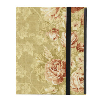 grunge,floral,vintage,damasks,wall paper,pattern,a iPad folio case