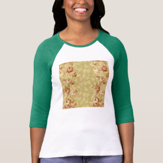 grunge,floral,vintage,damasks,wall paper,pattern,a t-shirt