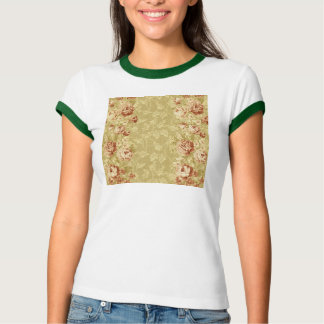 grunge,floral,vintage,damasks,wall paper,pattern,a tee shirt