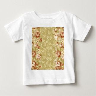 grunge,floral,vintage,damasks,wall paper,pattern, infant T-Shirt