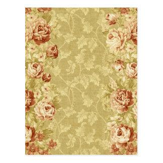 grunge,floral,vintage,damasks,wall paper,pattern, postcard