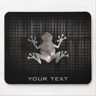 Grunge Frog Mouse Mat