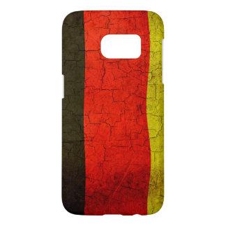 Grunge German flag