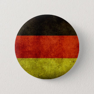 Grunge German Flag Button