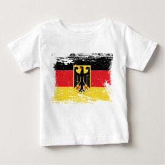 Grunge Germany Flag Baby T-Shirt