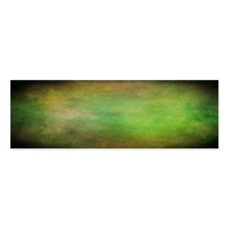 Grunge green colors of the forest with vignette pack of skinny business cards