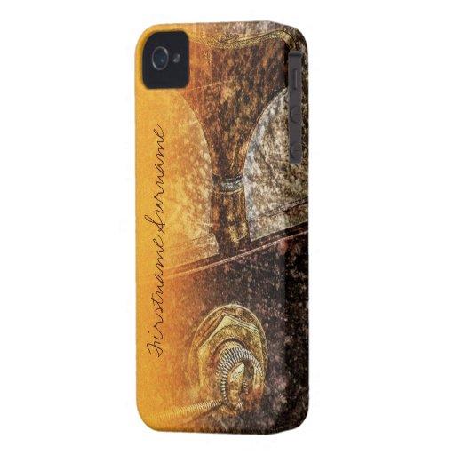 Grunge Guitar Tuner Music iPhone 4 Case-Mate