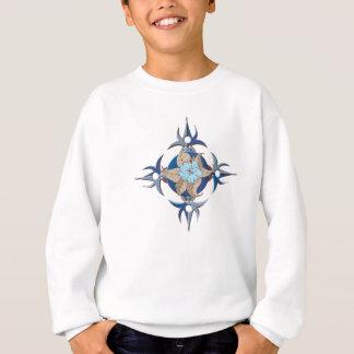 Grunge Hawaii Flower Sweatshirt