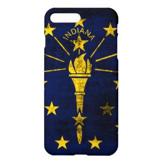 Grunge Indiana Flag iPhone 7 Plus Case