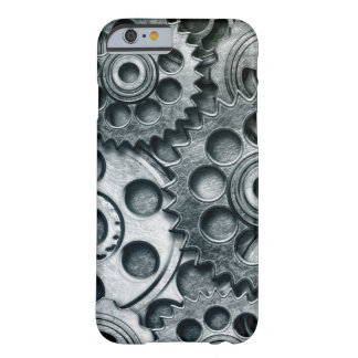 Grunge IPhone 6 Barely There case with gears