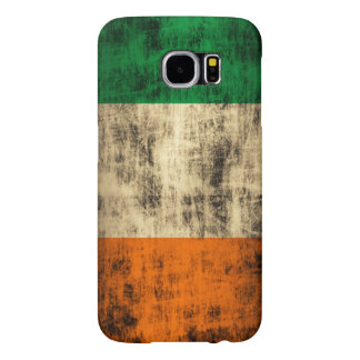 Grunge Irish Flag Samsung Galaxy S6 Cases