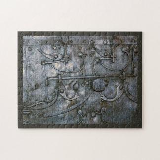 Grunge Iron Heavy Metal Jigsaw Puzzle