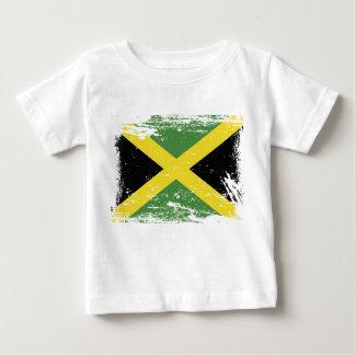 Grunge Jamaica Flag Baby T-Shirt