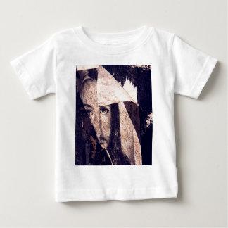 Grunge Jesus  graffiti image Baby T-Shirt