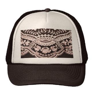 Grunge Lace Fabric Hat