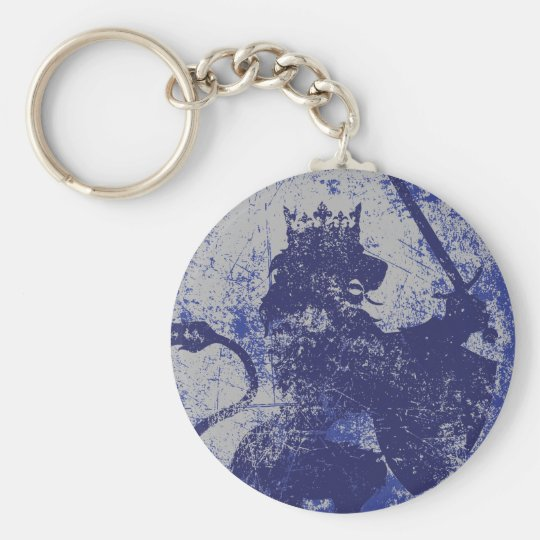 Grunge Lion King Keychain