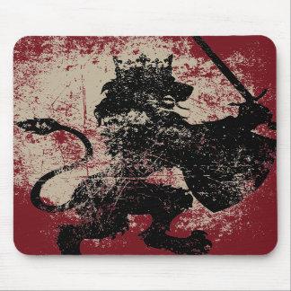 Grunge Lion King Mousepad