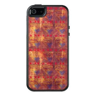 Grunge Logo Design OtterBox iPhone 5/5s/SE Case
