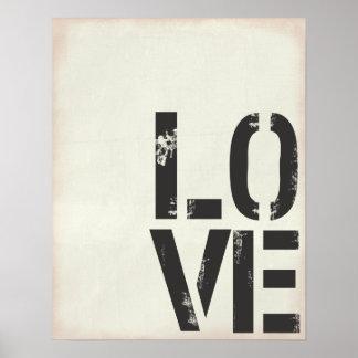 GRUNGE LOVE PRINT
