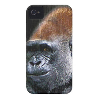 Grunge Lowland Gorilla Close-up Face iPhone 4 Case