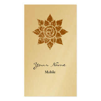 Grunge Mandala Pack Of Standard Business Cards