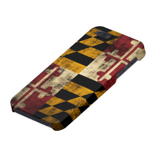 Grunge Maryland Flag iPhone 5/5S Cover