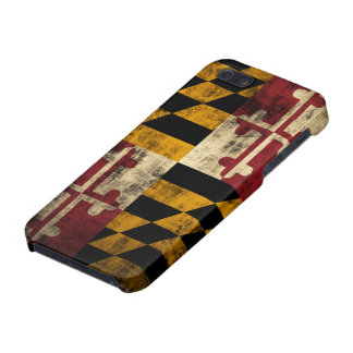 Grunge Maryland Flag iPhone 5/5S Covers