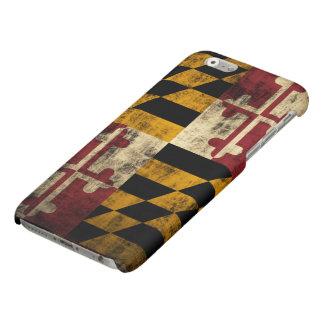Grunge Maryland Flag iPhone 6 Plus Case