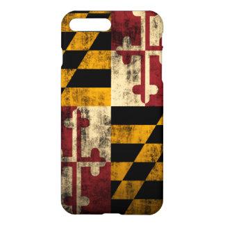 Grunge Maryland Flag iPhone 7 Plus Case