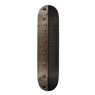 Grunge metal background 19.7 cm skateboard deck
