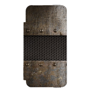 Grunge metal background incipio watson™ iPhone 5 wallet case