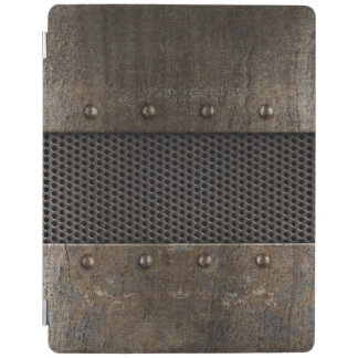 Grunge metal background iPad cover