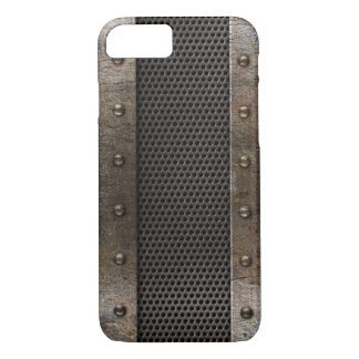 Grunge metal background iPhone 7 case