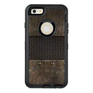 Grunge metal background OtterBox iPhone 6/6s plus case
