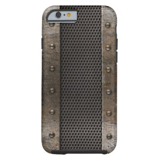 Grunge metal background tough iPhone 6 case