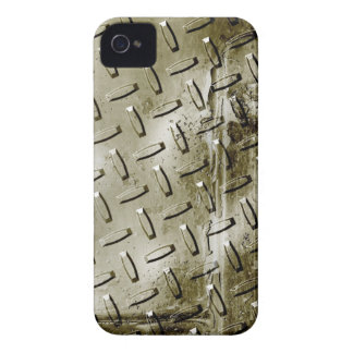 Grunge Metal design Blackberry Curve case