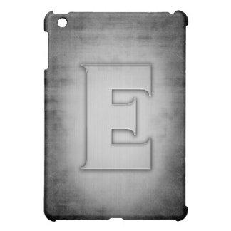 Grunge Metal E iPad Mini Cover